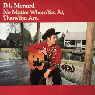 D.L. Menard ‎- No Matter Where You At, There You Are (LP) (EX/VG)